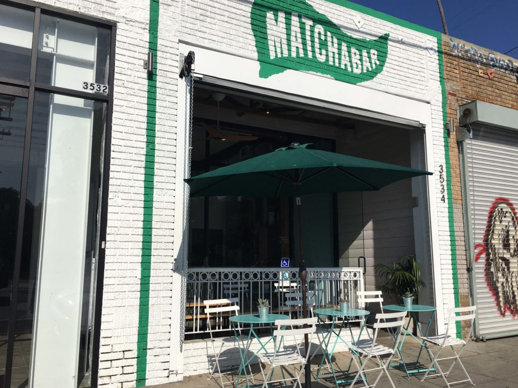 Il brand MatchaBar di New York è un esempio di Fast Casual